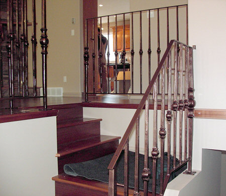 architectural accents and metalwork metal stair railings by
